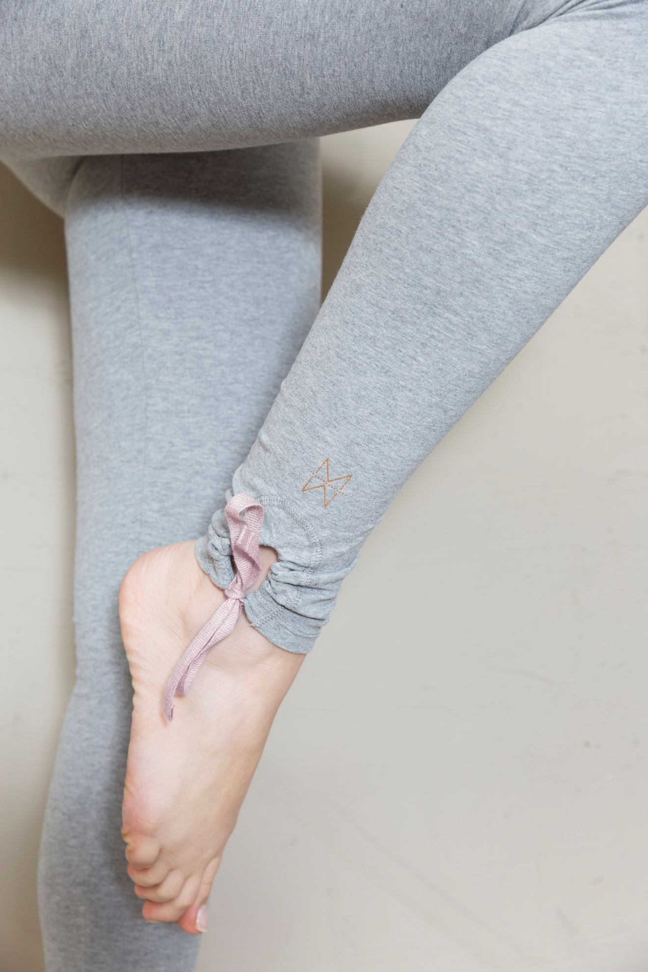 Picture of LEGGING LALY - Heather grey