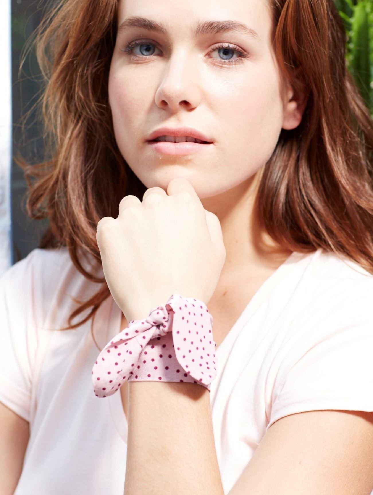 Bracelet M&M 100% soie